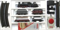 Набор стартовый «Грузовой поезд» G7.1 PKP (платформа, 2 грузовых вагона, цистерна) Piko 1:87 (96959)