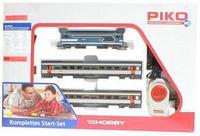 Набор стартовый BB 67000 с двумя пассажирскими вагонами, аналоговый, Piko 1:87 (59010)