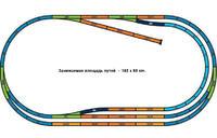 Набор стартовый с двумя составами (паровоз и тепловоз), хобби, Piko 1:87 (57176)