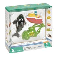 """Заводные игрушки для ванны """"Лягушка, кит, лодка"""""""
