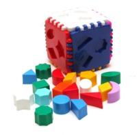 """Детский логический куб """"Ева"""""""