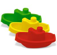 Набор детскийпластмассовых корабликов 3 шт