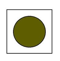 Краска для сборных моделей - Оливковая