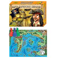 """Игра настольная  """"Карта карибских пиратов"""""""