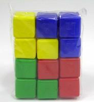 Кубики детские Малыш с азбукой 12штук