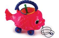 Рыбка-каталка с набором для игры в песочнице  (РОСИГРУШКА)