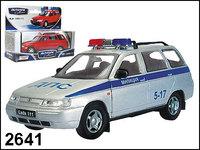 """Масштабная модель ВАЗ-111 Лада """"Милиция"""""""