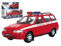 """Масштабная модель ВАЗ-111 Лада """"Пожарная охрана"""""""