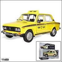 "Машинка копия автомобиля ВАЗ 2106 ""Такси"""