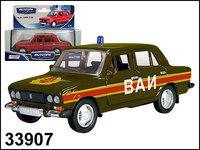 "Машинка копия автомобиля ВАЗ 2106 ""ВАИ СССР"""