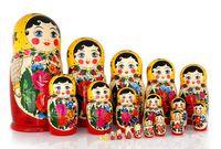 "Матрешка  ""Россияночка"" (10 кукол)"