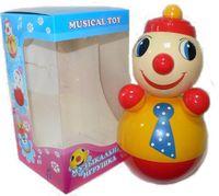 "Дет. музыкальная игрушка-неваляшка ""Клоун"" 22 см"