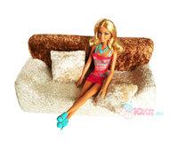 Мягкая мебель для кукол Диван и 2 подушки (в сумке)