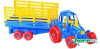 Трактор с прицепом (Нордпласт)