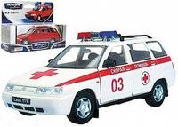 "Масштабная модель ВАЗ-111 Лада ""Скорая помощь"""