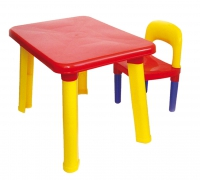 Комплект детской мебели: стол и стул