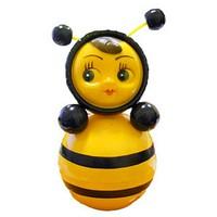 """Дет. музыкальная игрушка-неваляшка """"Пчелка"""" 22 см"""