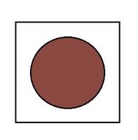 Краска для сборных моделей - Коричневая
