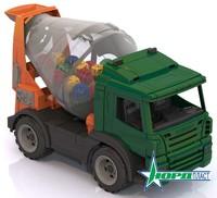 Дет. игрушечная спецтехника: бетономешалка