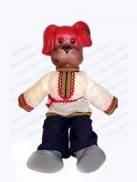 Кукла Собака Трезор