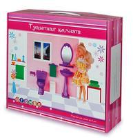 """Туалетная комната для кукол, """"Огонек"""""""