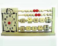 Игрушечные часы-счётики