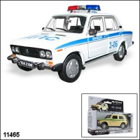 "Машинка копия автомобиля ВАЗ 2106 ""Милиция"""