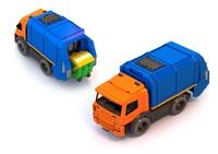 Дет. игрушечная спецтехника: мусоровоз
