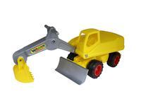 Детский игрушечный мега-экскаватор колесный