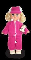 Кукла Настя с собачкой озвуч. (30 см)