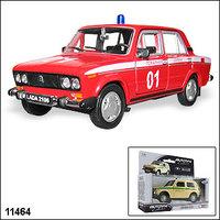"""Машинка копия автомобиля ВАЗ 2106 """"Пожарная охрана"""""""