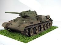 Модели танков для склеивания Танк Т34/76