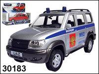"""Модель УАЗ Патриот """"Милиция"""""""