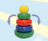 """Дет. пирамида-качалка """"Круг"""" (шар)"""