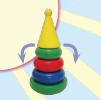 """Дет. пирамида-качалка """"Круг"""" (конус)"""