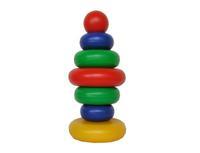 Дет. пирамидкаРадуга - 6 шар