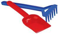 Песочный набор № 1 грабли+лопата 'Полесье'