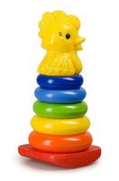 Дет. Пирамида-качалка Петушок (Росигрушка)