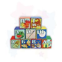 """Дет. развивающая игрушка """"Кубики алфавит"""""""