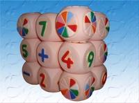 Кубики детские ПВХ Веселая арифметика