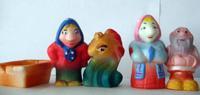 """Набор детскийПВХ игрушек """"Сказка о рыбаке и рыбке"""""""