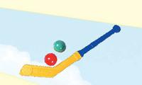 """Детский игровой набор детский """"Клюшка с двумя шарами"""""""