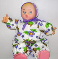 ПВХ Дет. игрушка Кукла Настенька