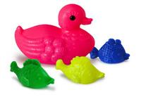 """Детский Набор детский для купания """"Утка и три рыбки"""" (Росигрушка)"""