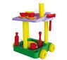 Детский сервировочный стол с набором посуды