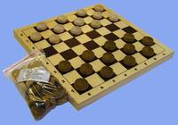 Шахматная доска (290 х 145мм)