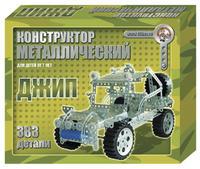 Конструктор детский металлический Джип 383 детали
