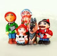 """Набор детскийПВХ игрушек """"Красная Шапочка"""""""