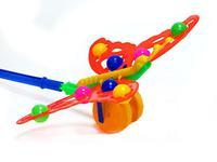 """Дет. каталка с ручкой """"Бабочка с шариками"""""""