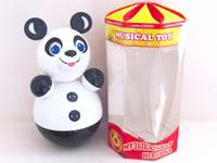 """Дет. музыкальная игрушка-неваляшка """"Панда"""" 28 см"""